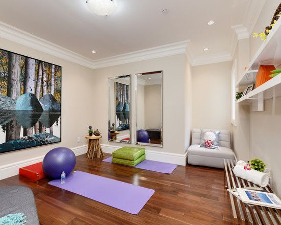20 enchanting home gym ideas - Home Yoga Studio Design Ideas