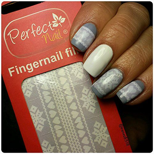 Perfect Nail - A Nail Art Gel Film that Melts onto Polish...