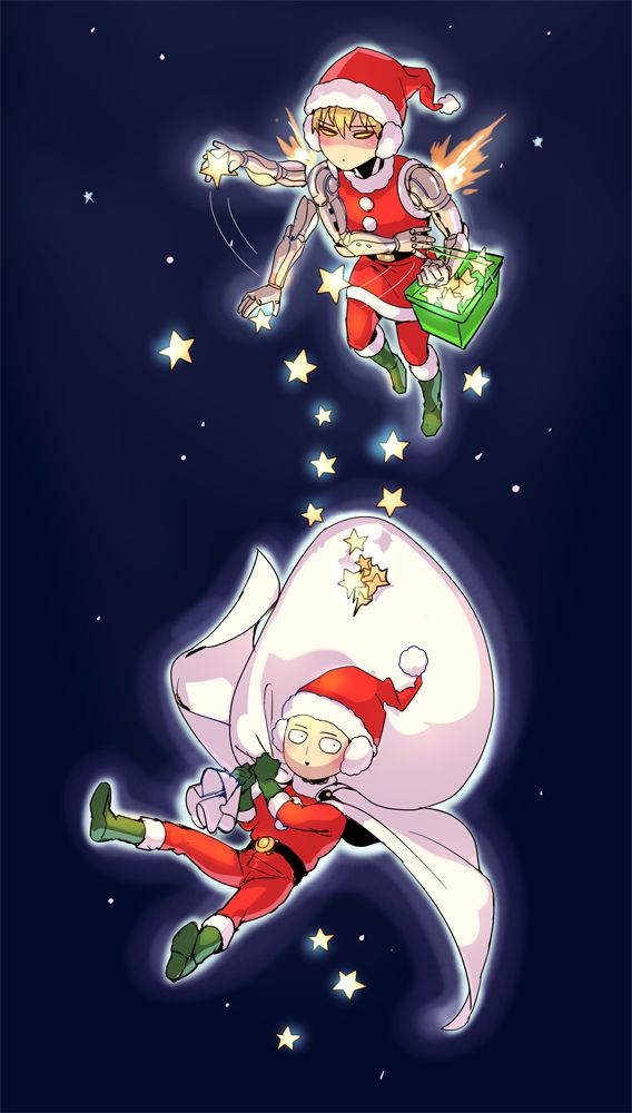 One Punch man Christmas