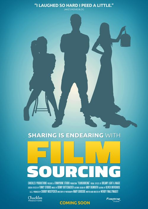 Filmsourcing Comedy Poster Tutorial - FREE psd