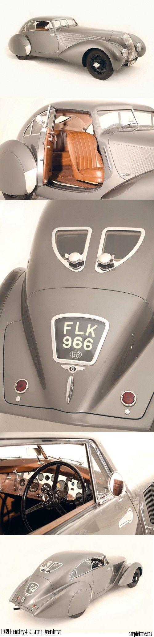 1939 Bentley 4 ¼ Litre Overdrive: