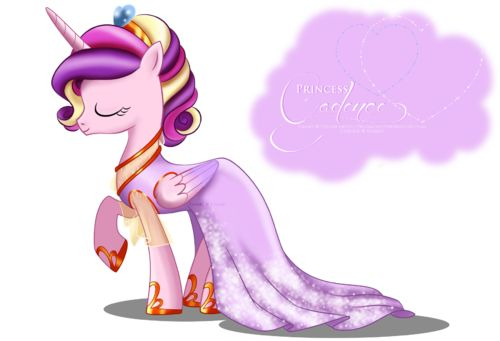 Gallery Solo Princess Cadence Gala Fashion Dress fan art by selinmarsou. Wink Lonely in the dark Princess Cadence fan art by faron123123. Princess Cadence fan art by jiayi. Princess Cadence fan art by celebi-yoshi. Princess Cadence fan art by kajitanii. Just wearing a necklace Princess Cadence in french form. Baby Princess Cadence Cadence was originally as Pegasus Princess Cadence blushing fan art by dentist73548. Sailor Cadance Angry human Add a photo to this gallery With others Princess...