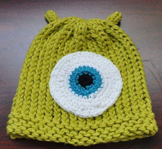 Monsters Inc loom knit hat pattern #crochet #Loom #Loom Knitting #loom knitting projects #loom knitting ideas