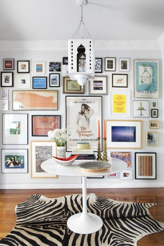 gallery wall inspiration eclectic layouts apartment therapy 39 s home. Black Bedroom Furniture Sets. Home Design Ideas