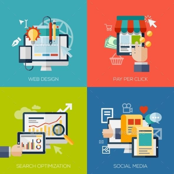 Web and Online Icons