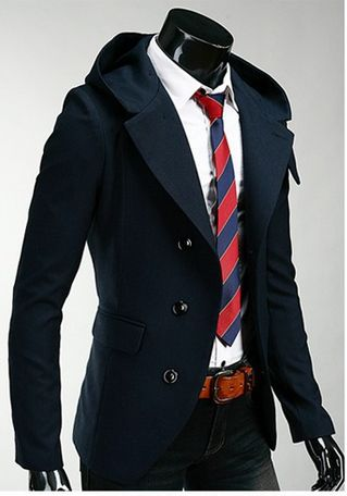 Slim Fit Hooded Blazer | Discount price | Formal Jacket – Appareldise http://appareldise.com/products/modo-high-collar-hooded-sweater