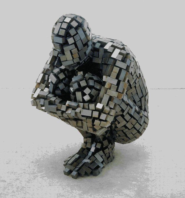 Blind Artist George Redhawk Creates Mesmerizing GIFs | iGNANT.de