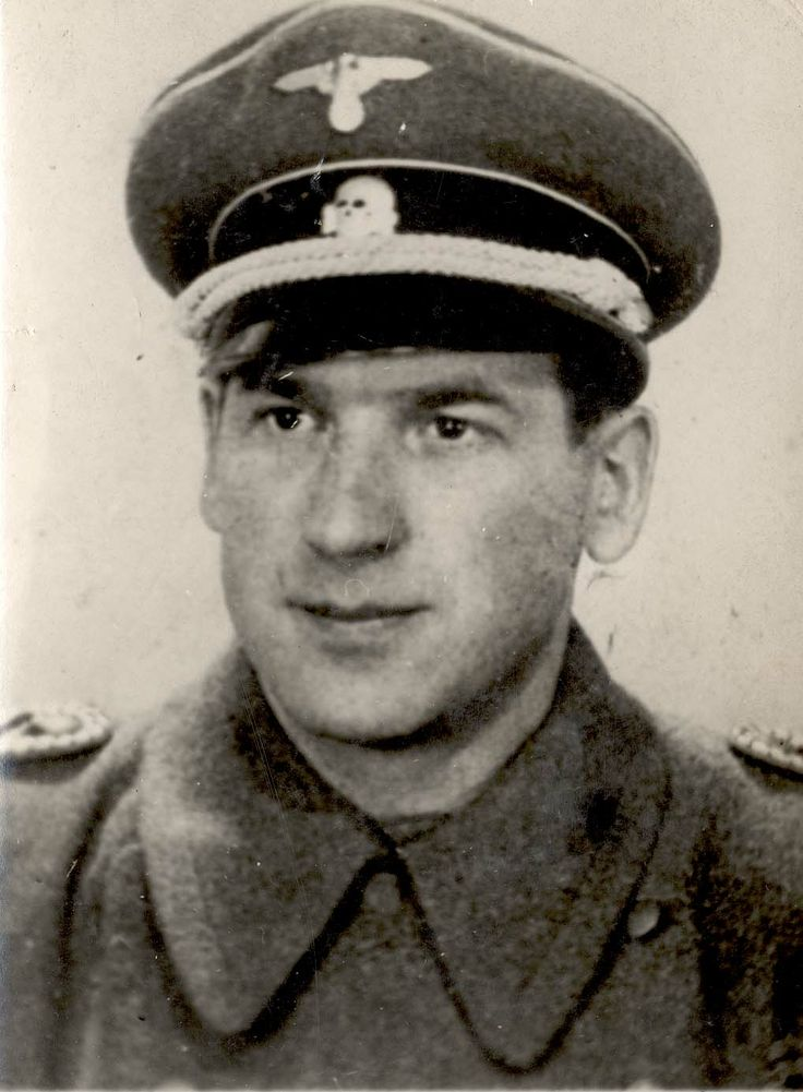Alois Pell, who served in the Gestapo headquarters in Riga.