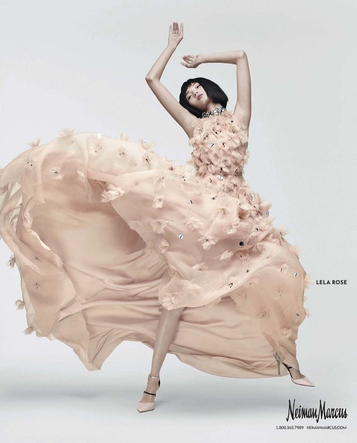 Lela Rose dress from Neiman Marcus Spring 2016 Art of Fashion campaign
