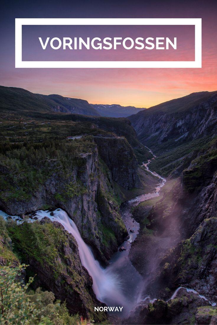 Vøringsfossen, der wohl bekannteste Wasserfall Norwegens
