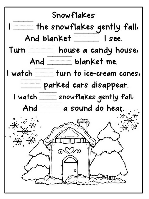 Writing prompts about winter