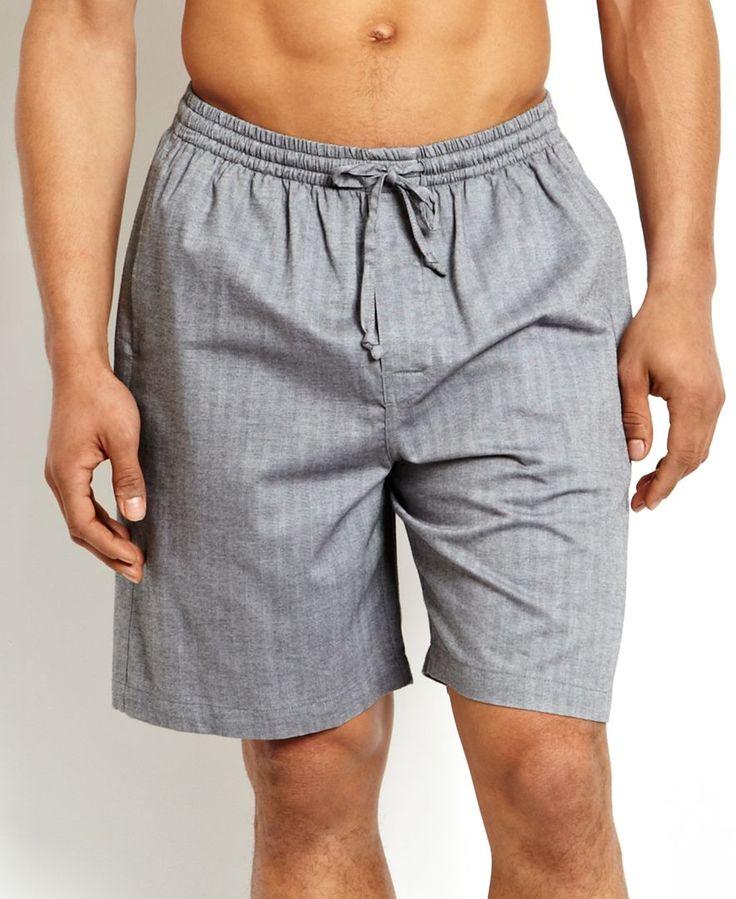 Nautica Men's Sleepwear, Herringbone Short