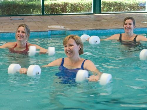 Aquarobics at Solar Springs