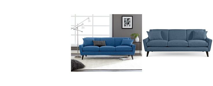 AuBergewohnlich Jaylen Fabric Sofa With 2 Throw Pillows   Couches U0026 Sofas   Furniture    Macyu0027s