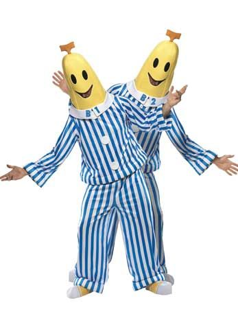 Bananas in Pyjamas - Angels Fancy Dress Costumes.... me and steph this halloween.... look out...