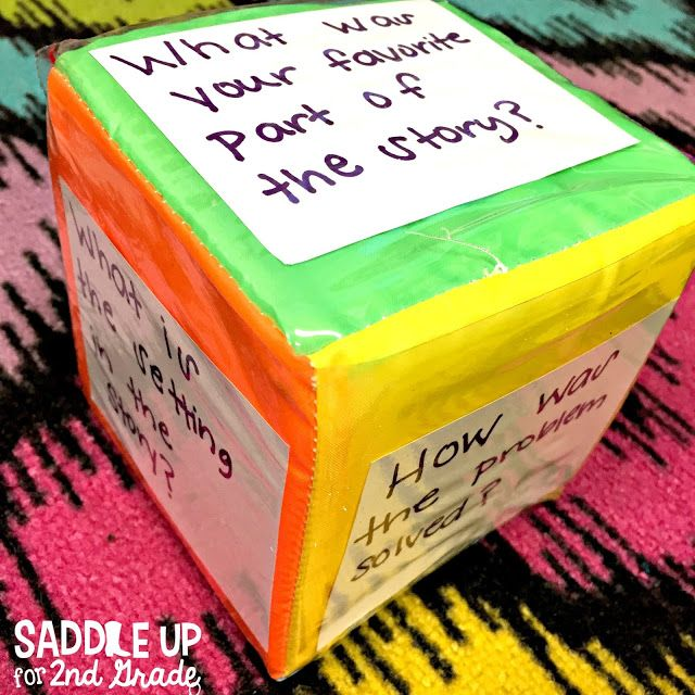 These pocket dice from Oriental Trading are perfect for guided reading groups!