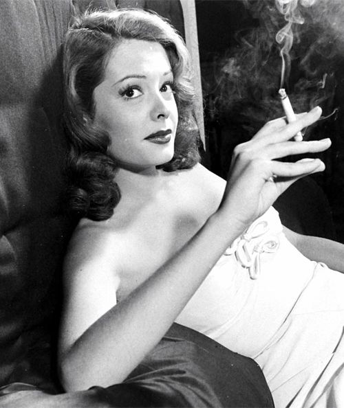 gloriaswanson:  Jane Greer photographed by Peter Stackpole, 1947