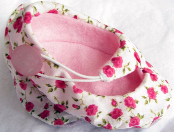 29 best reviews features images on pinterest atelier newborn chic baby shoes pink floral liberty print unique baby gift for baby girl negle Image collections