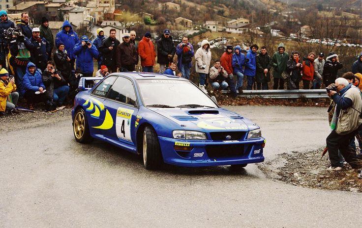 Piero Liatti - Fabrizia Pons 65th Rallye Automobile de Montecarlo 1997 (Subaru Impreza WRC)
