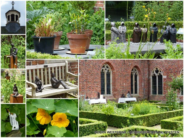 Kruidentuin @kloosterterapel Collectie 200 planten! Expositie Marianne Dijkstra. westerwolderijgt.nl #WWR