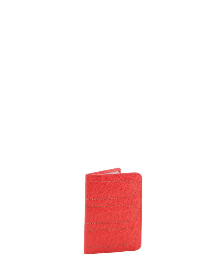 Spencer and Rutherford - sale - Passport Sleeve - Passport Cover - Summer Bloom/Red