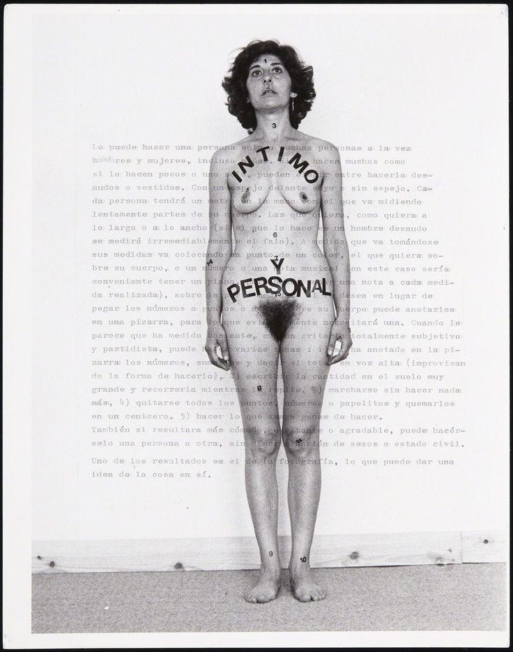 Esther Ferrer: Íntimo y personal (1977) - Museo Reina Sofía