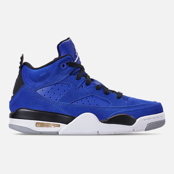 815f1f7870b9c5 Right view of Men s Air Jordan Son of Mars Low Off Court Shoes in Hyper  Royal White Black Light Smoke
