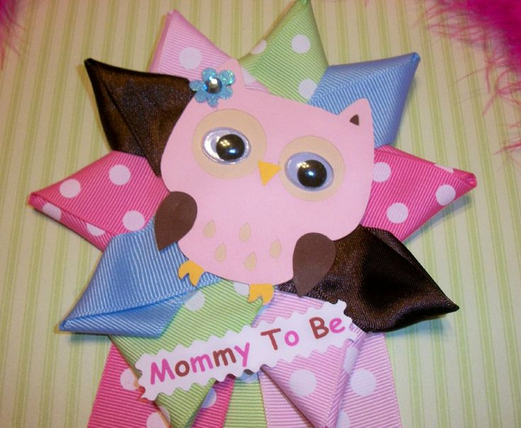 Girl Owl Baby Shower | Owl Baby Shower Corsage   Girl   Owl Theme   Baby