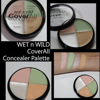 MichelaIsMyName: WET n WILD CoverAll Concealer Palette REVIEW