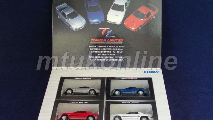 TOMICA TL | MAZDA RX-7 4 MODELS | FC3S x 2 | FD3S x 2 | COMPLETE | LAST ONE