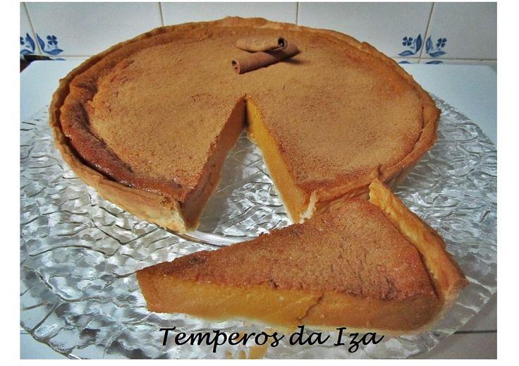 Tarte de Leite Condensado Cozido e Canela - http://www.sobremesasdeportugal.pt/tarte-de-leite-condensado-cozido-e-canela/