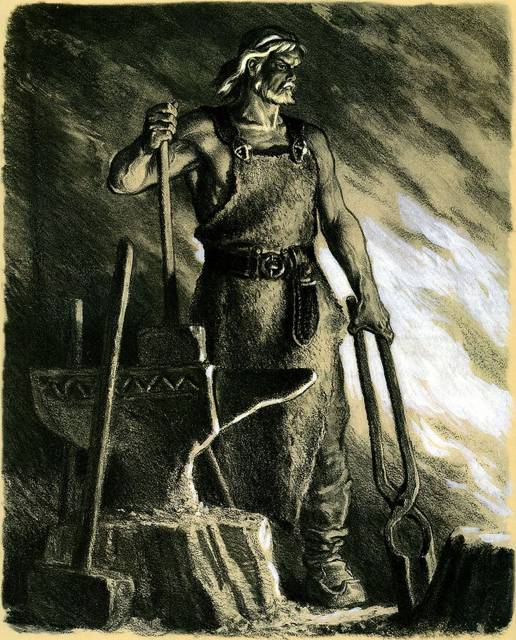 Ilmarinen by Nicolai Kochergin Seppo Ilmarinen, the Eternal Hammerer, blacksmith and inventor in the Kalevala. Finnish mythology