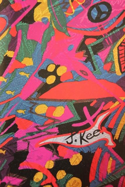 Jenny Kee 80's print