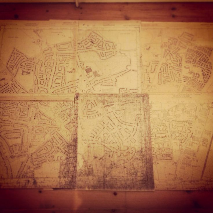 Piecing together Leigh Park... #maphistory