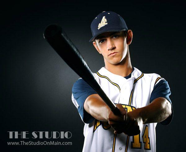 ©The Studio • La Crosse, WI www.TheStudioOnMain.com  Boy • Senior • Pictures • Portraits  Sports •Aquinas • Baseball