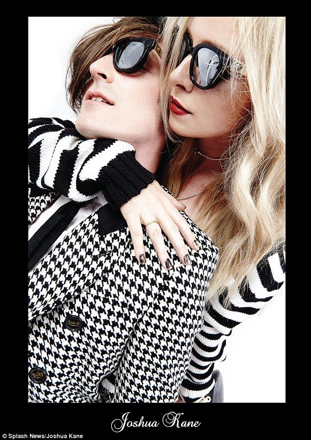 Diana Vickers and bf in fashion campaign @ChicAPic