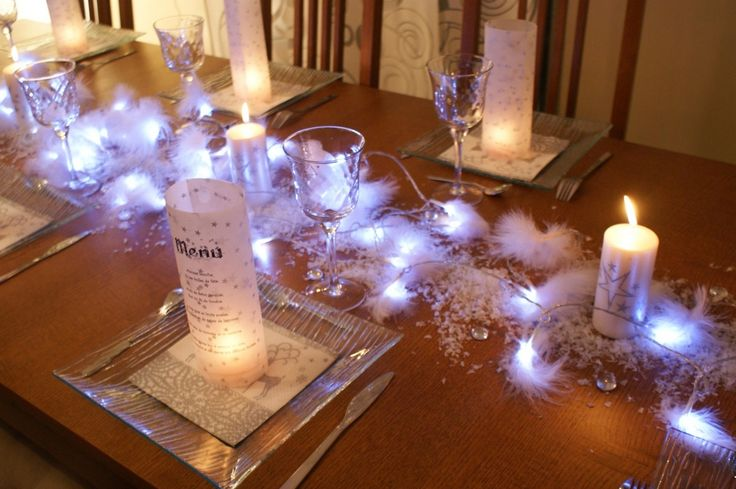 22 best images about versiering ideetjes on pinterest - Decoration table pour noel ...
