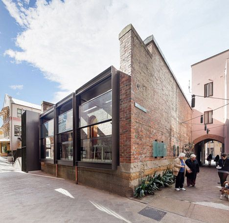 An old police station in Sydney, Australia, has been turned into a restaurant by Welsh and Major