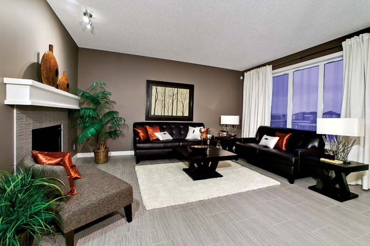 Living room in Leera Showhome in Sherwood in NW Calgary, Alberta, by Shane Homes