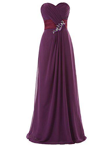 Dresstells Long Chiffon Prom Dress with Beadings Bridesmaid Dresses Party Dress Dresstells http://www.amazon.co.uk/dp/B00MA5CDEY/ref=cm_sw_r_pi_dp_I5qEwb0TD2Z10