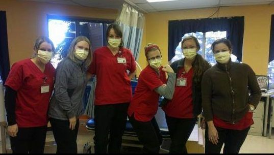 Nurses across the country are proudly displaying their masks as badges of honor in not giving in to intimidation and medical tyranny regarding forced vaccinations!