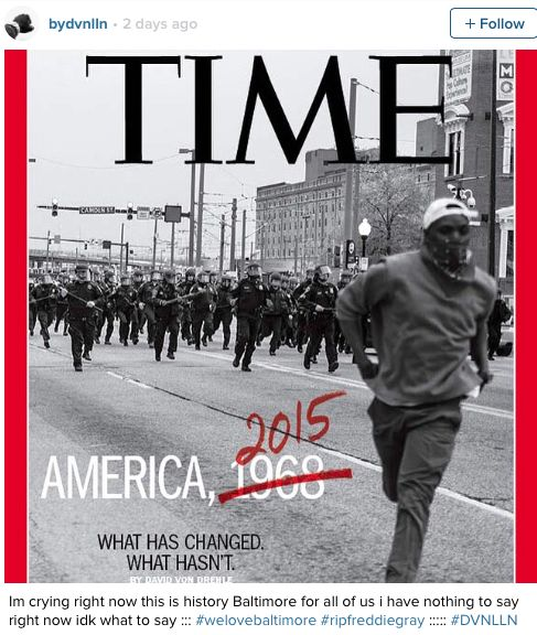 Baltimore Photographer Devin Allen Captures Uprising In Touching TIME Cover Photo