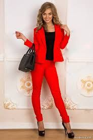 бордовый брючный костюм женский - Google Search