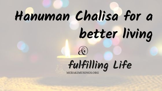 Hanuman Chalisa For A Better Living And Fulfilling Life