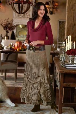 Vivian Skirt from Soft Surroundings