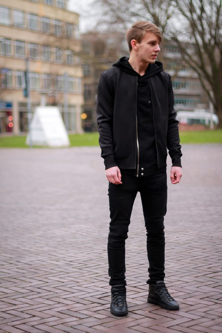 Casual All Black Outfits For Men | www.pixshark.com - Images Galleries With A Bite!