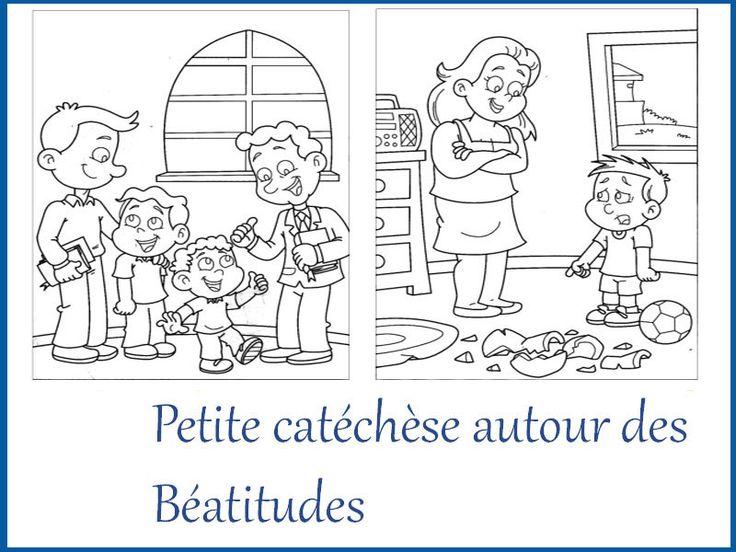 Petite catéchèse avec les Béatitudes - KT42 portail pour le caté