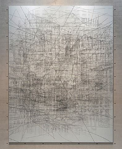 Julie Mehretu. I love this! I can't stop looking at it!!!