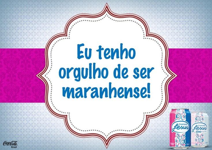 Maranhão, meu tesouro, meu torrão...