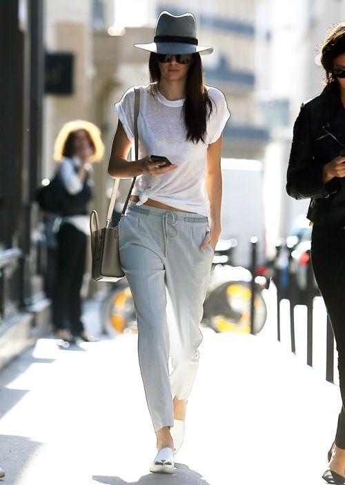damn she looks cool. KJ #offduty in NYC. #KendallJenner